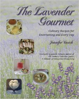 Cookbook - The Lavender Gourmet by Jennifer Vasich (Author)