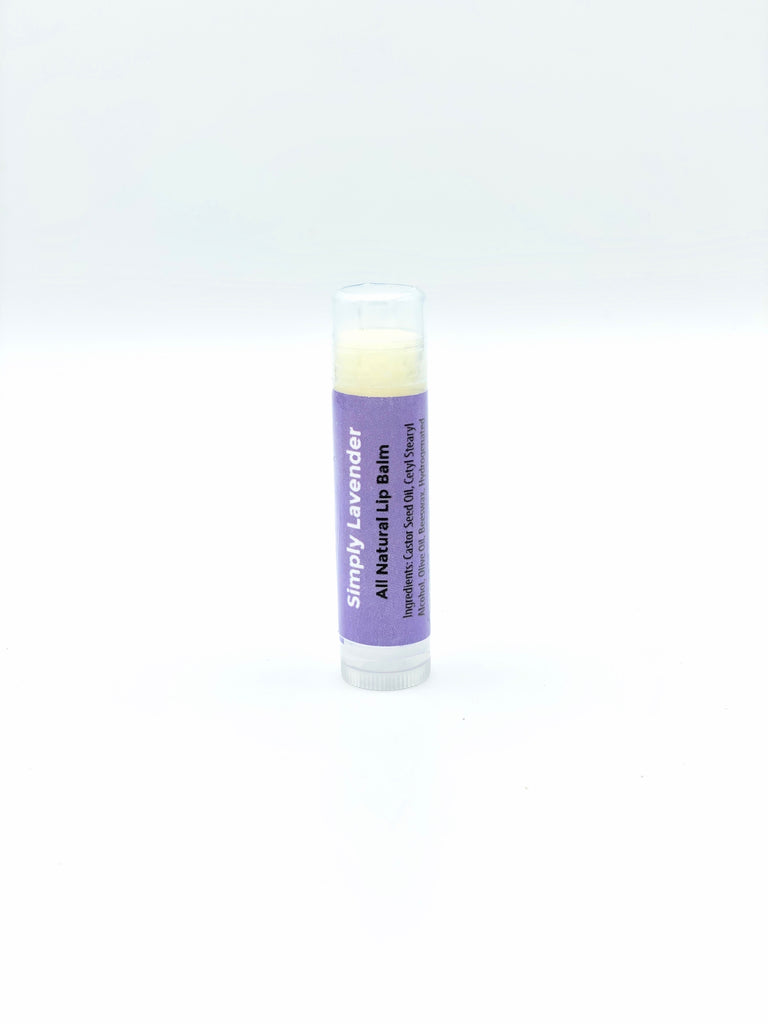 All Natural Lavender Lip Balm