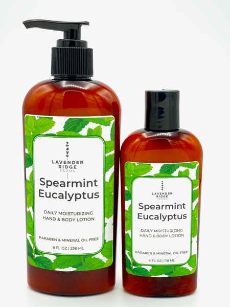 Lotion - Spearmint Eucalytus Hand & Body