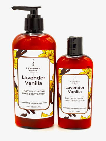 Lotion - Lavender Vanilla Hand & Body