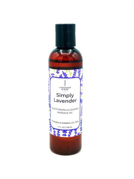 Massage & Body Oil -Simply Lavender