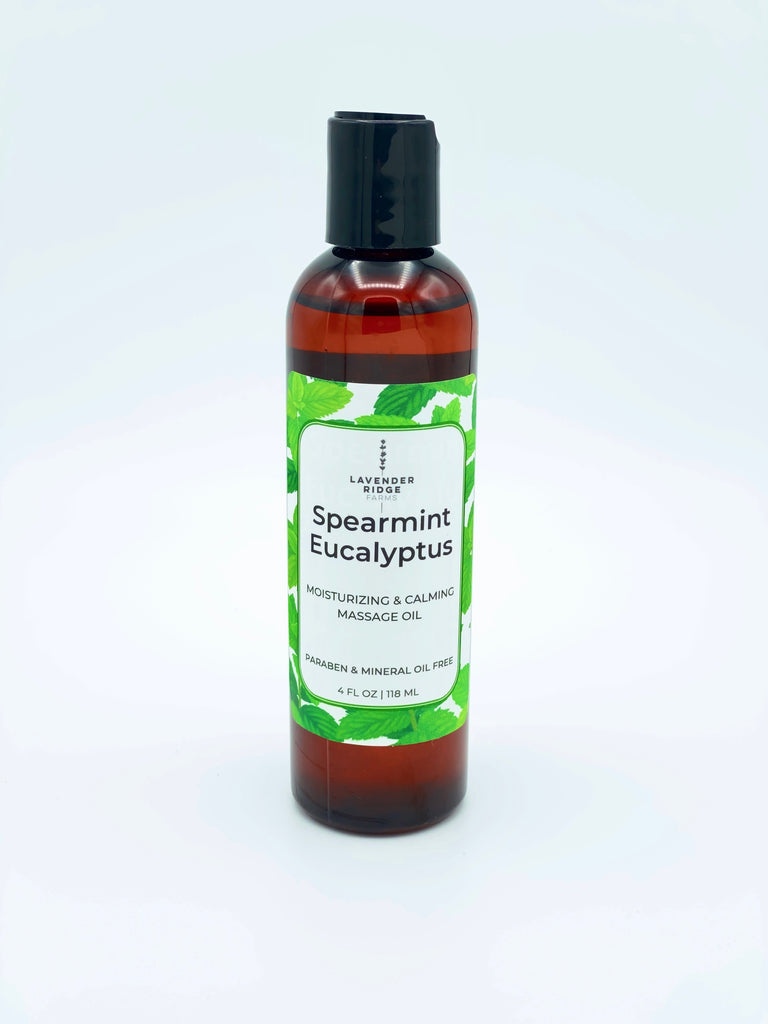 Massage & Body Oil Spearmint Eucalyptus