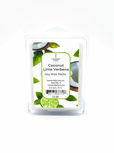 Coconut Lime Verbena Soy Wax Melts