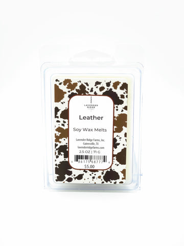 Leather Soy Wax Melts