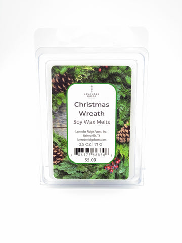 Christmas Wreath Soy Wax Melts