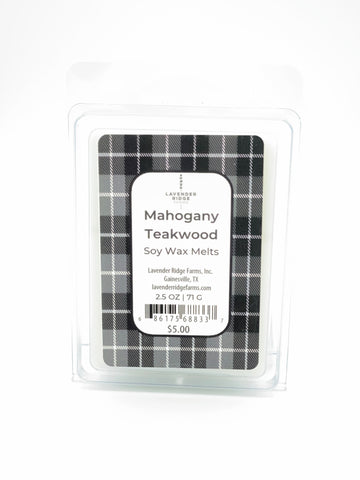 Mahogany Teakwood Soy Wax Melts