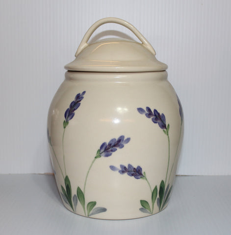 Lavender Cookie Jar