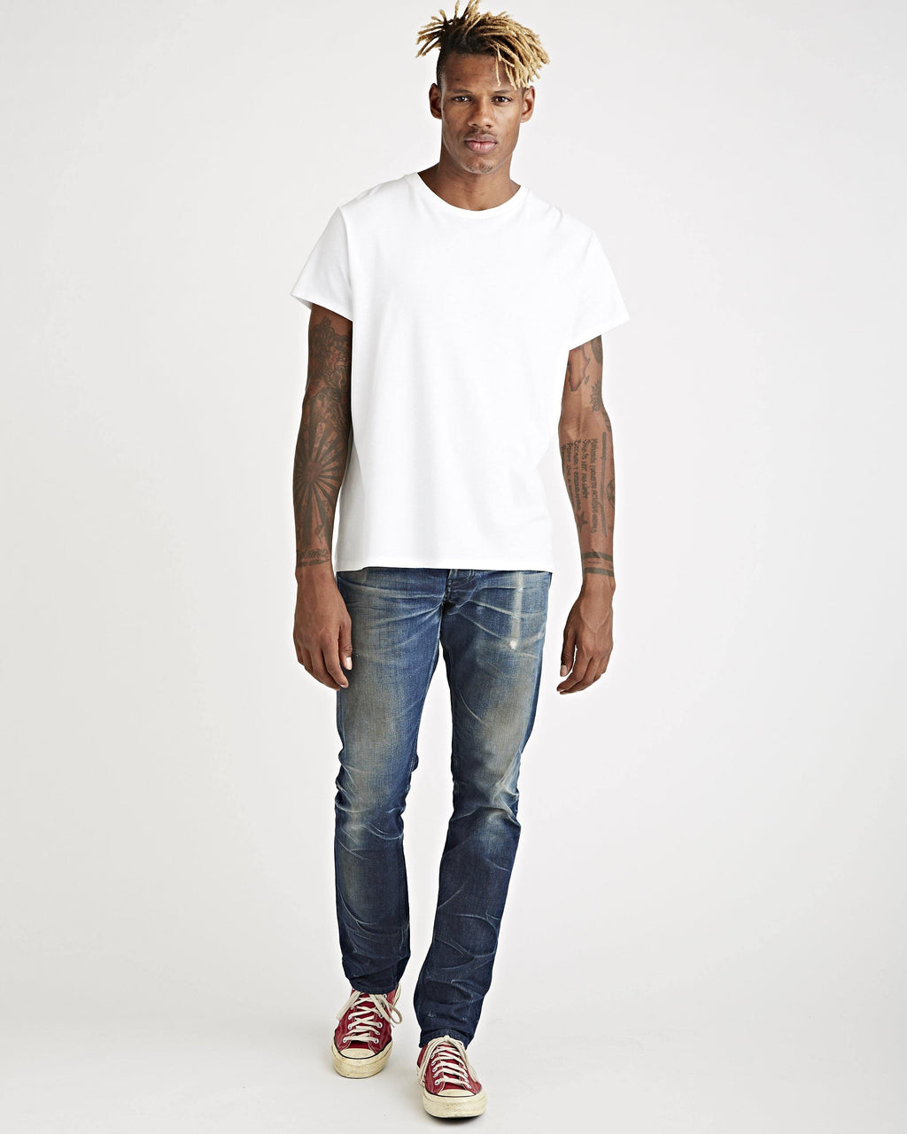 James Tee Optic White