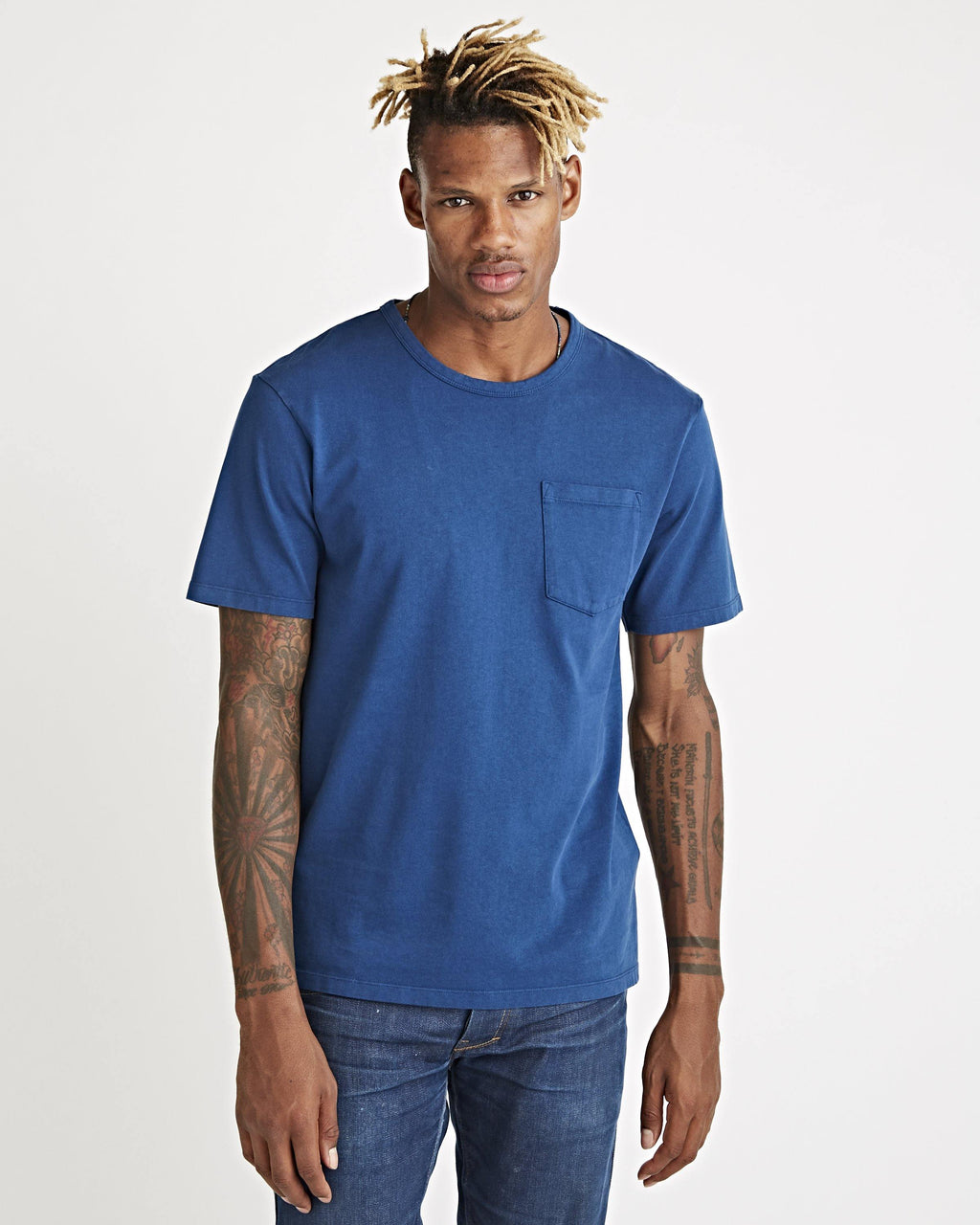 John Pocket Tee Indigo