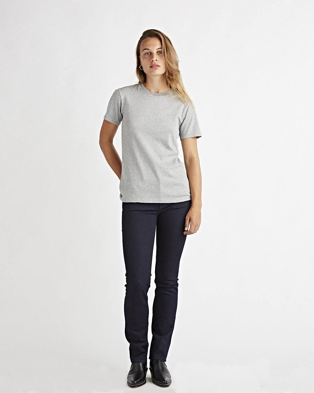 Brook Tee Heather Grey