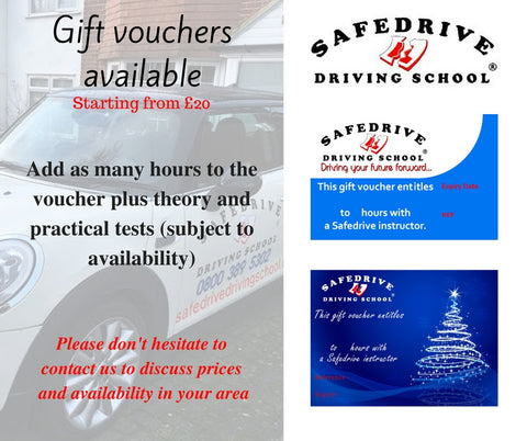 Gift vouchers available to order!