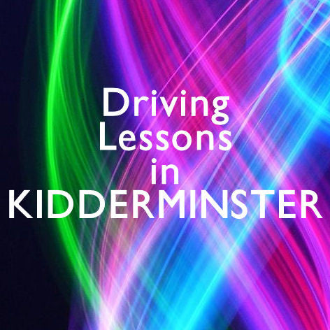 Kidderminster Driving Lessons Manual
