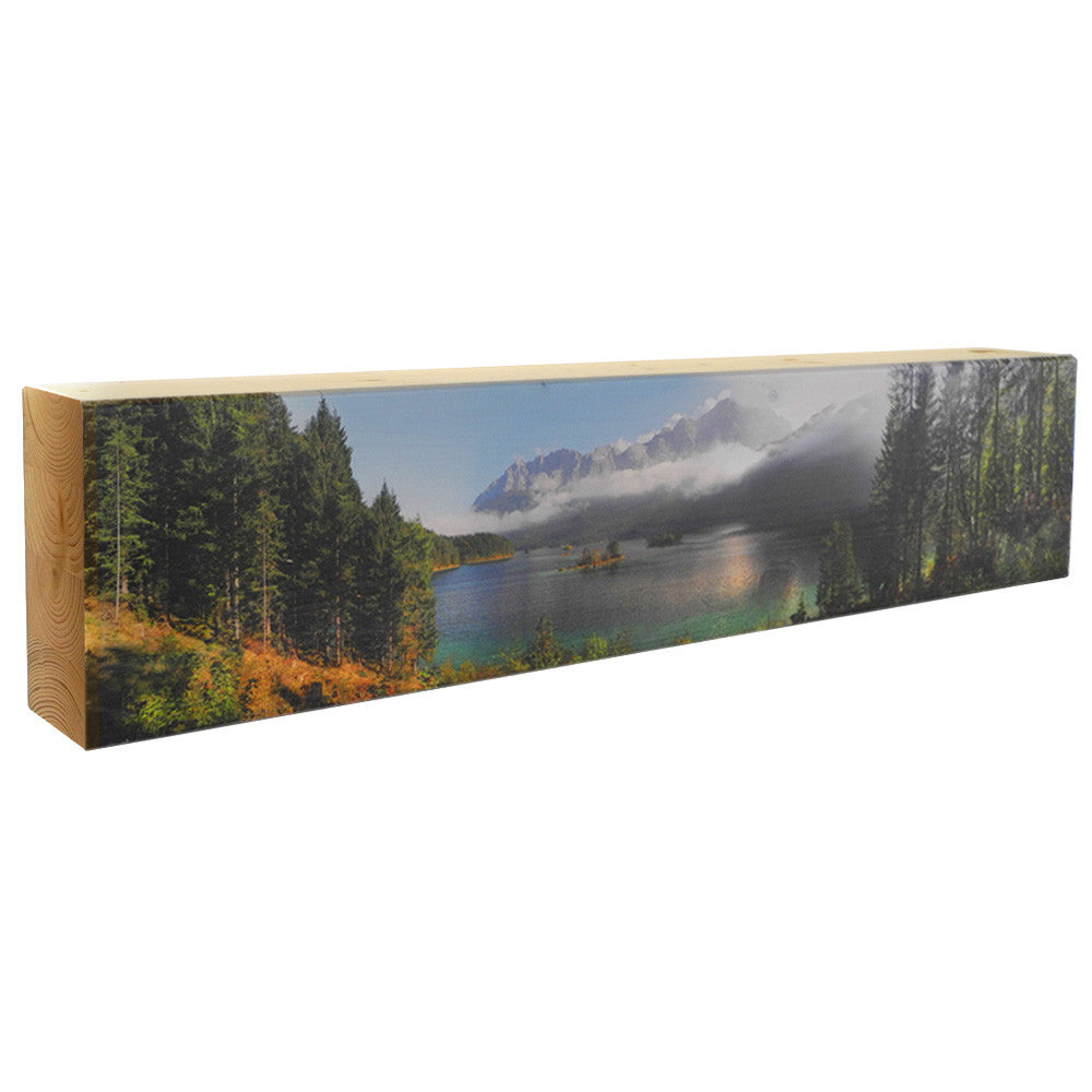 Bergsauger Eibsee Panorama 75x16x8cm