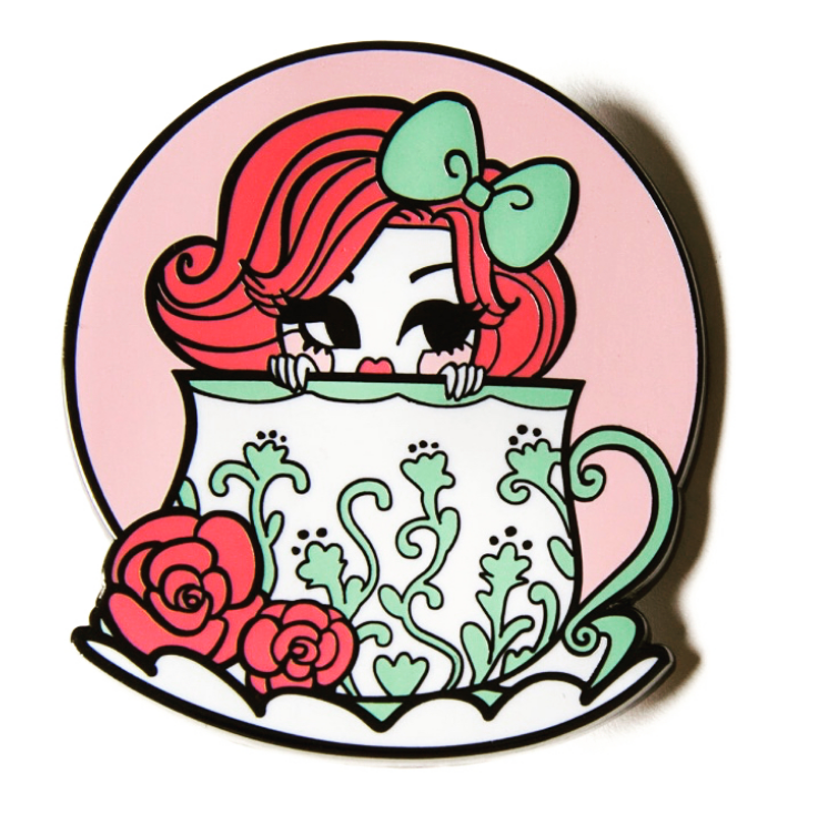 Tea Time Tea Cup Pin
