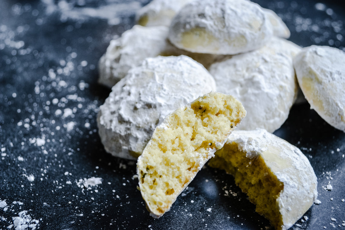 Cornmeal Cookies with Olive Oil and Fresh Herbs, Many Ways