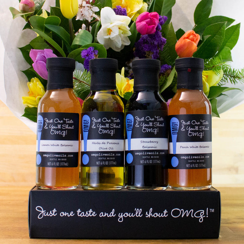 Seasonal Four Bottle Gift Box