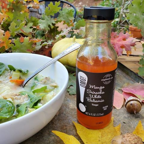 Mango Sriracha White Balsamic Vinegar