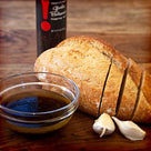Traditional Garlic Balsamic Dipping Oil