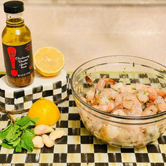 Chardonnay Roasted Garlic Marinade