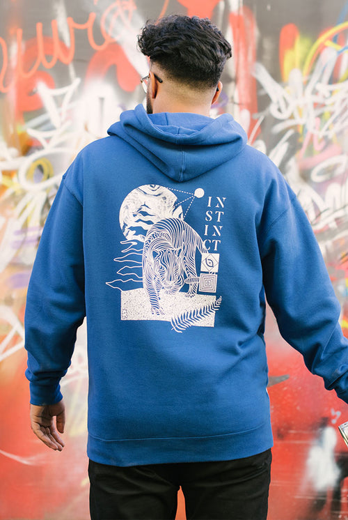 Instinct Vol. 2 Risograph Hooded Sweatshirt