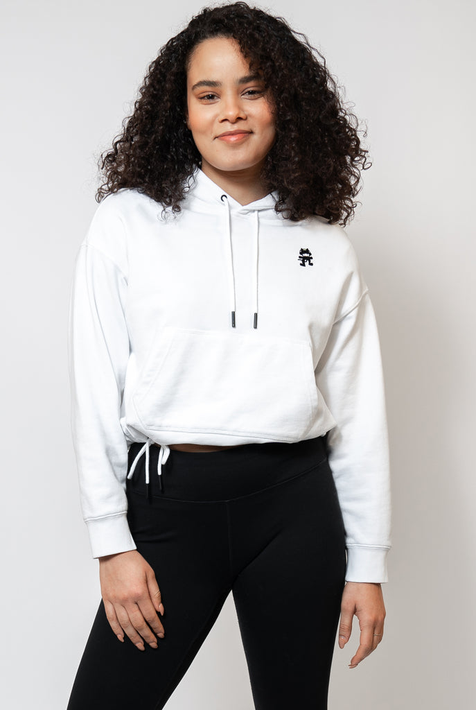 Icon Cropped Hoodie