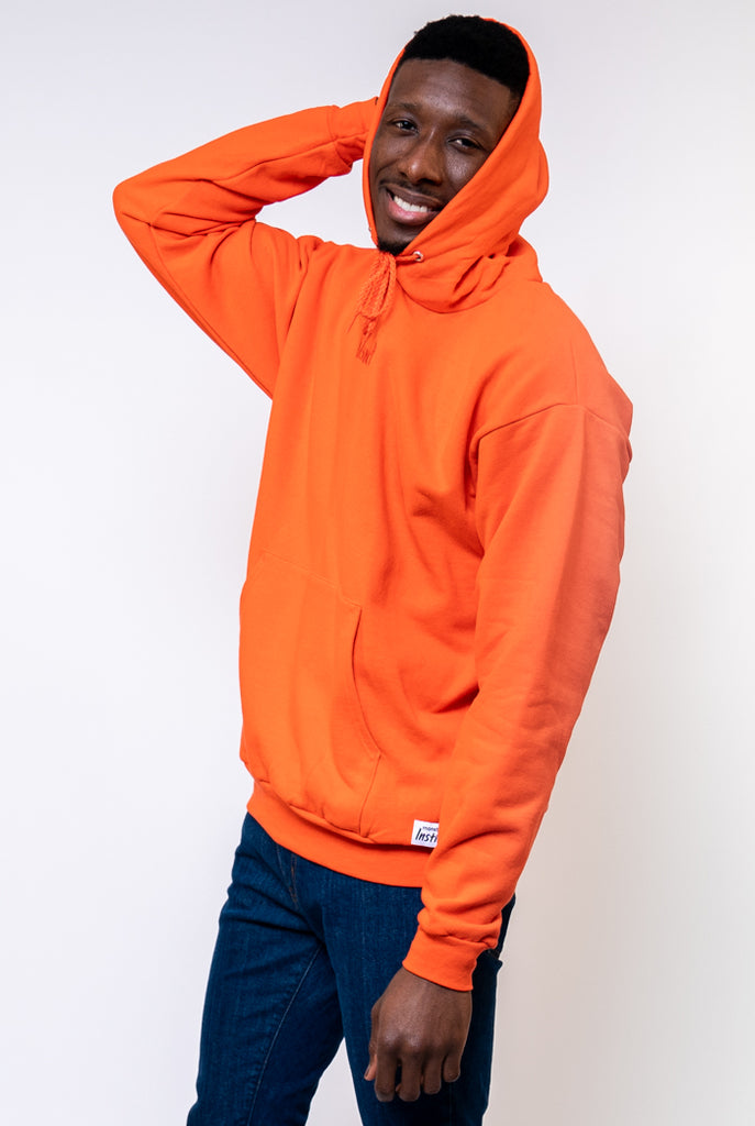 Instinct Vol. 1 Cross Contour Orange Hooded Sweatshirt