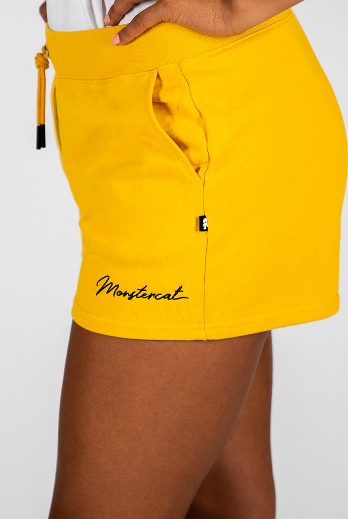 Womens Monstercat Script Sweatshort