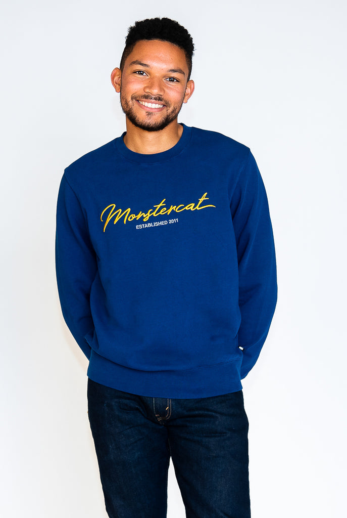 Monstercat Script Crew Sweatshirt