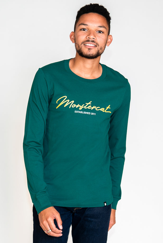 Monstercat Script Hi-Lo Longsleeve T-Shirt