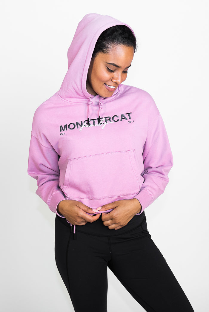 Monstercat Family Cropped Hoodie