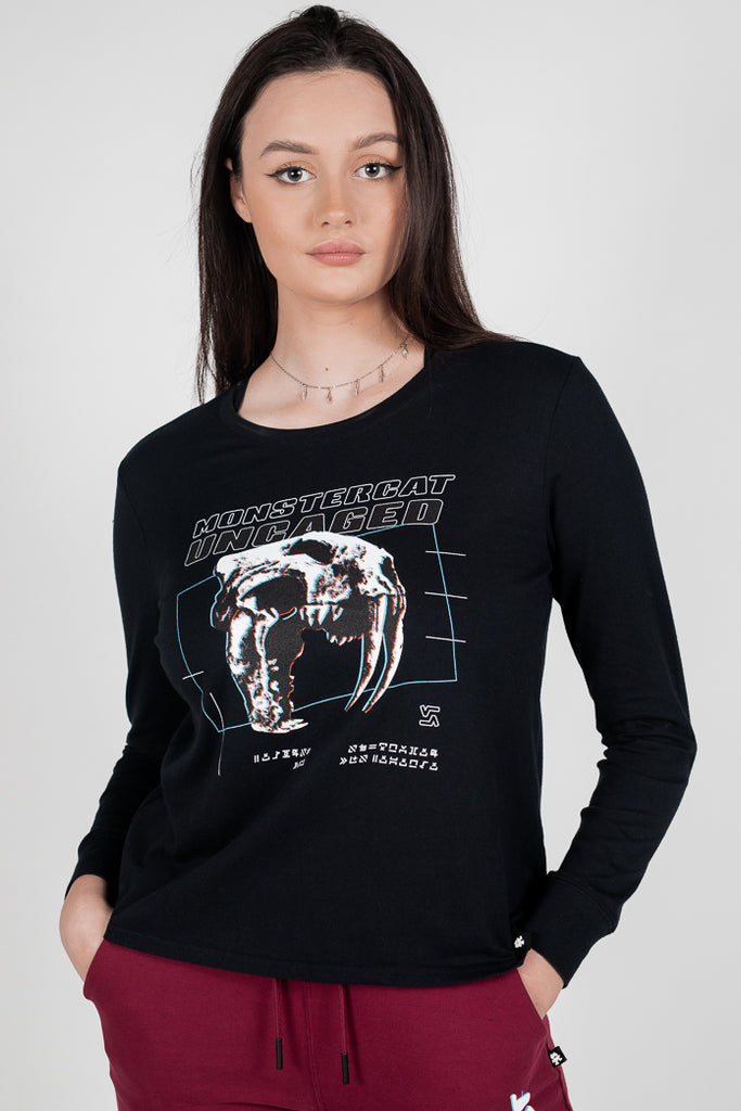 Uncaged Vol. 10 Womens Longsleeve T-Shirt