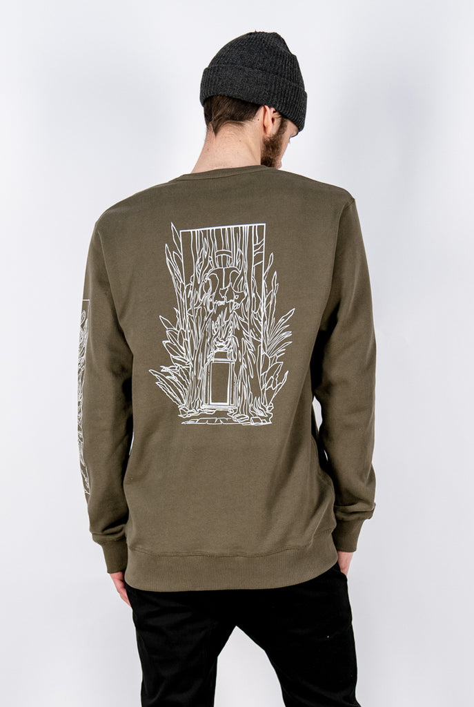 Uncaged Vol. 8 Ingress Crewneck Sweater