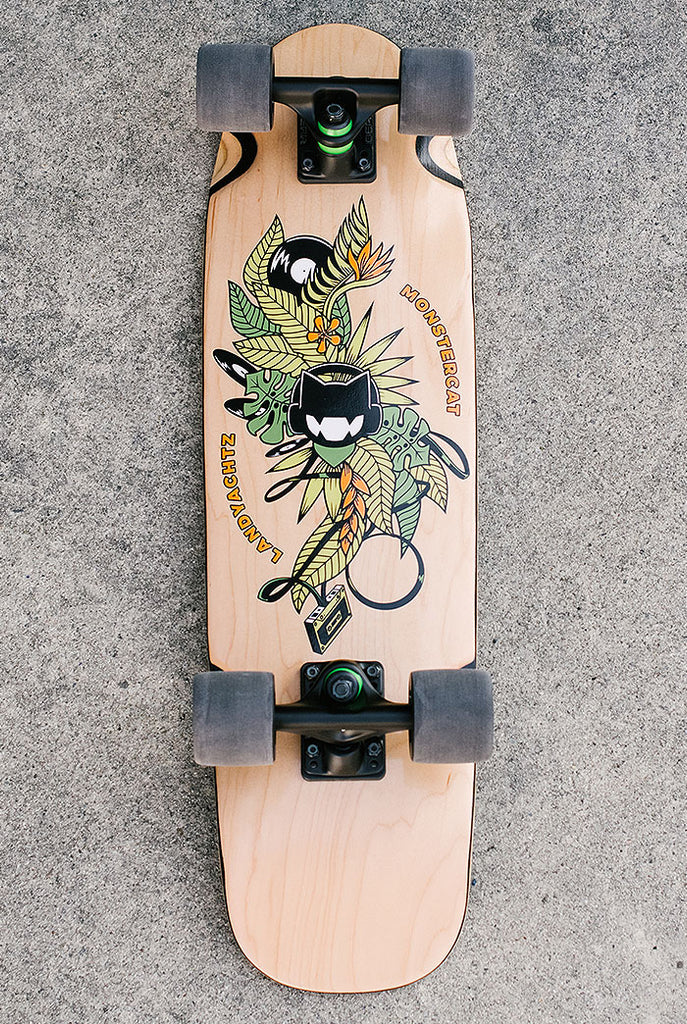 Monstercat x Landyachtz Tropics Cruiser Board