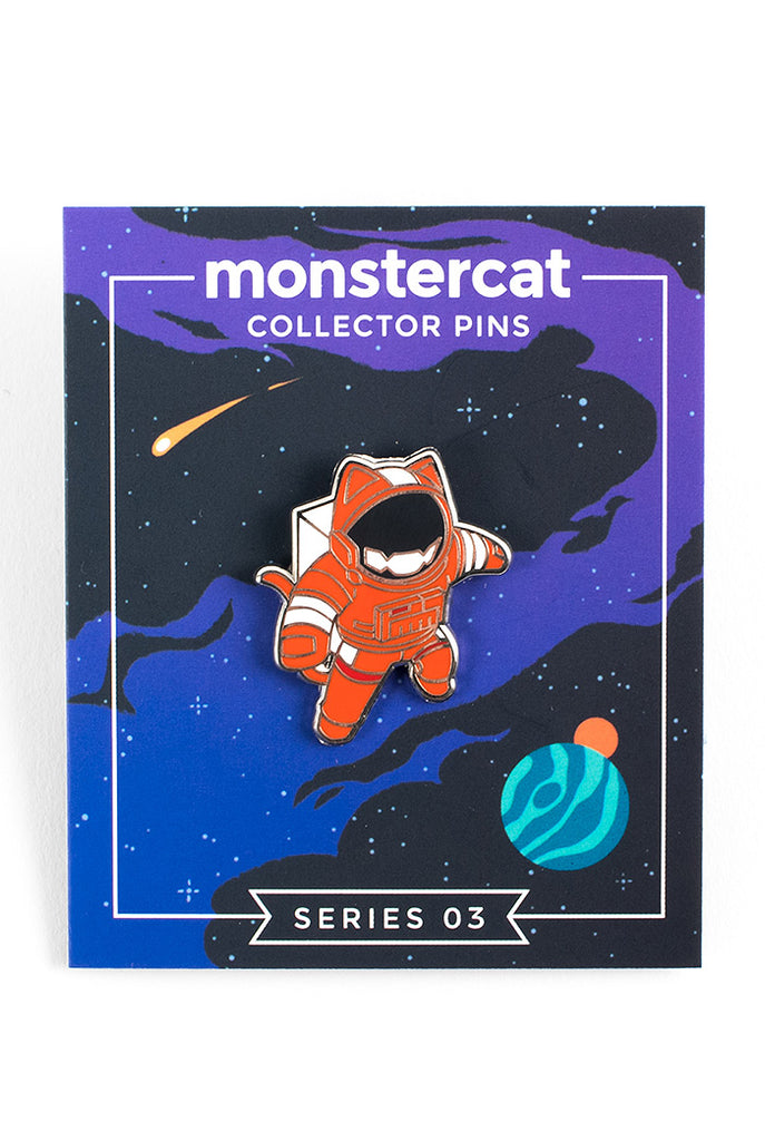 Series 3 Collector Pins: Cats VS Aliens