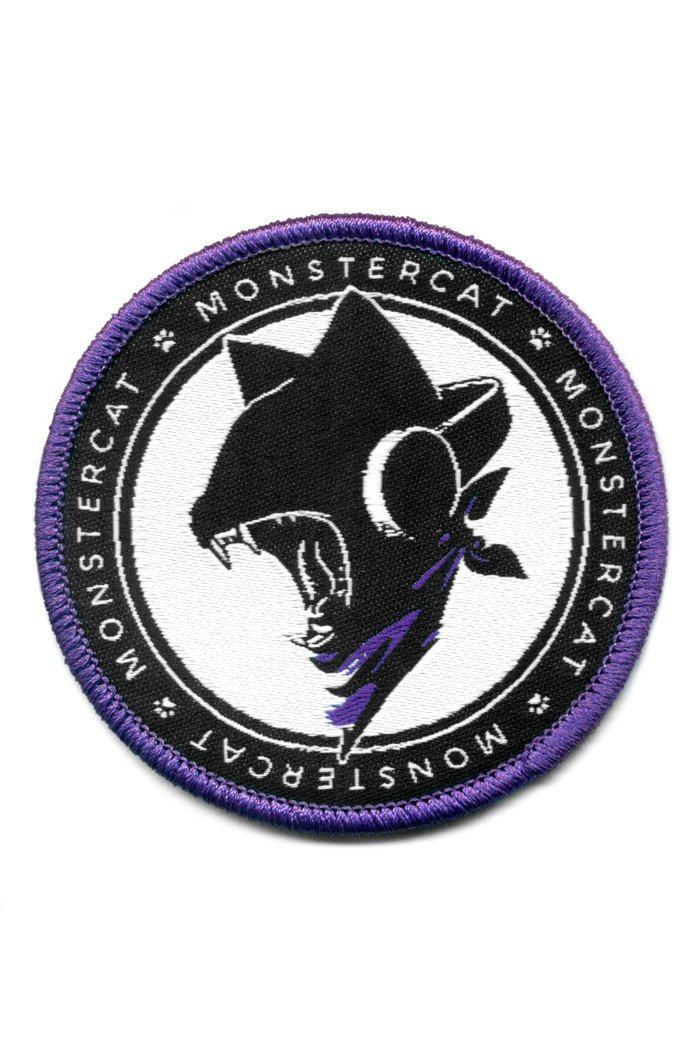 Monstercat Uncaged Woven Patch