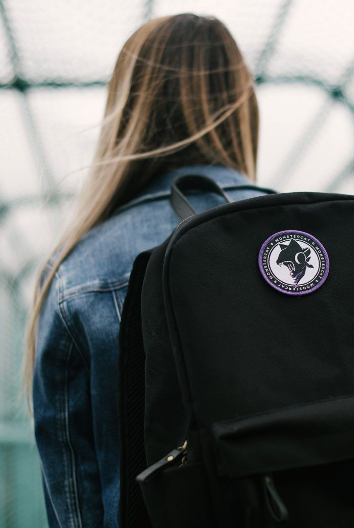 Monstercat Uncaged Woven Patch Model