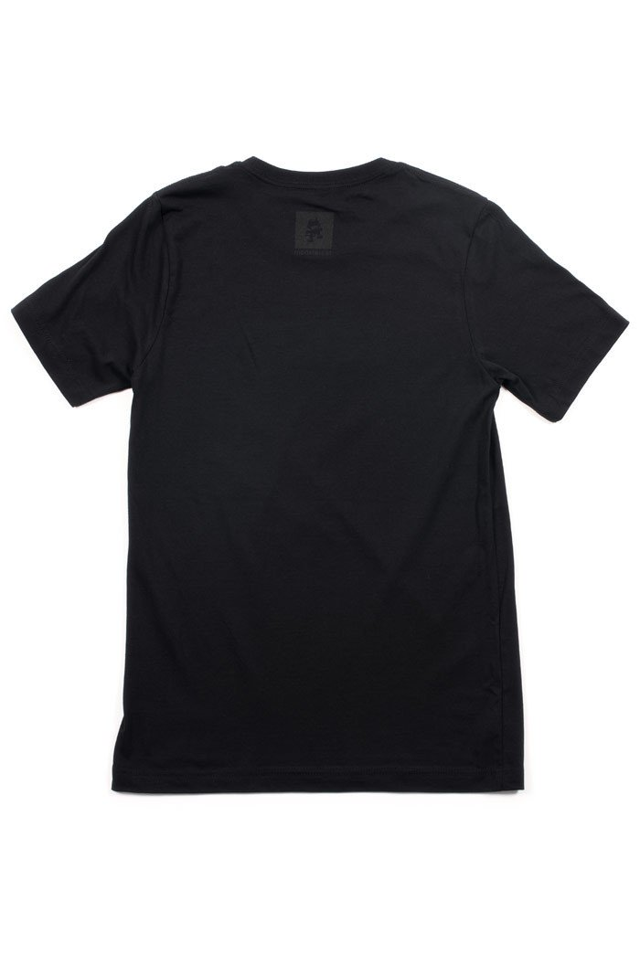 Uncaged Vol 2 Text Tee Black Back Lay Flat