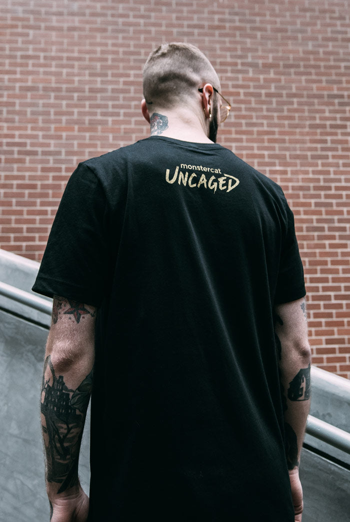 Uncaged Vol. 4 Metallic Gold T-Shirt