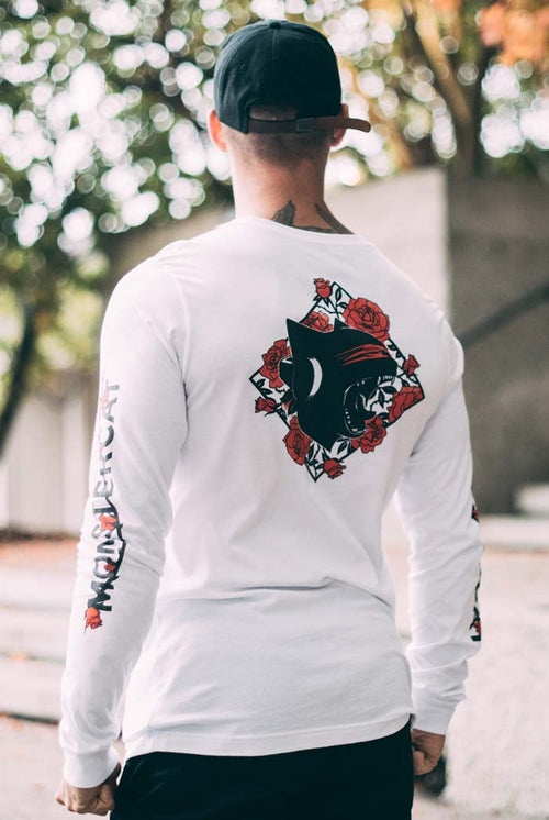 Uncaged 03 Long Sleeve T-Shirt (Roses)