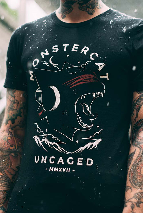 Uncaged 03 T-Shirt (Moonlight)