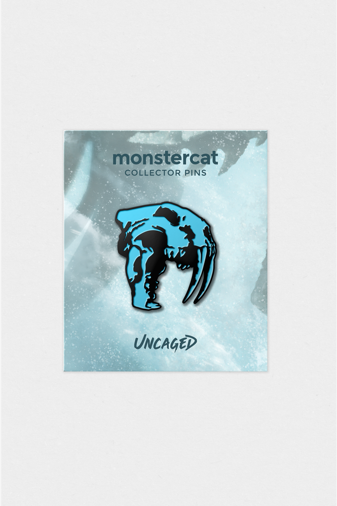 Uncaged Vol. 10 Enamel Pin