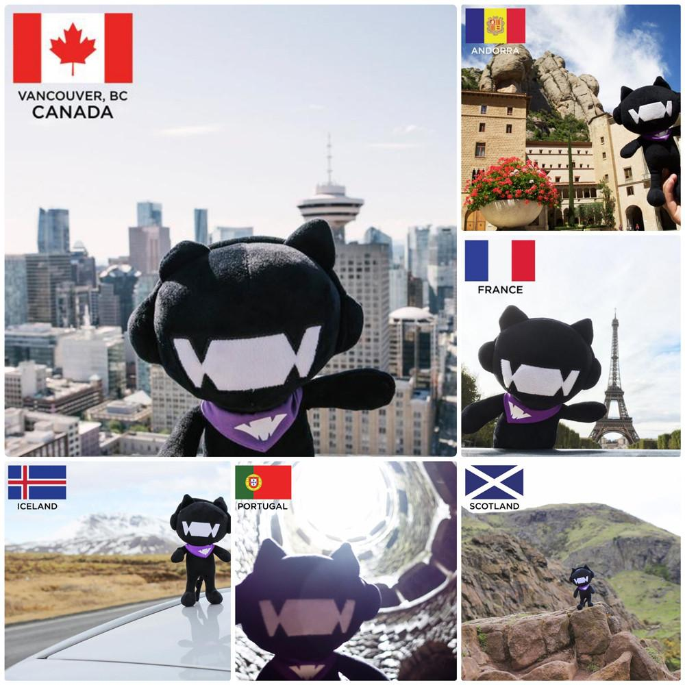 Monstercat Plushie mcatjourney