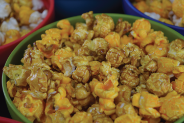 Cheddar Caramel Popcorn | Cravings Popcorn Mr. Delivery