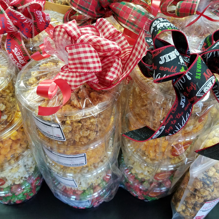 popcorn gift towers