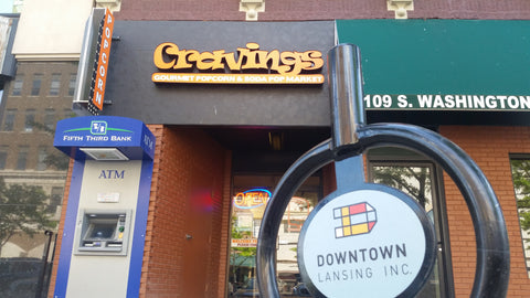 Cravings Gourmet Popcorn Downtown Lansing