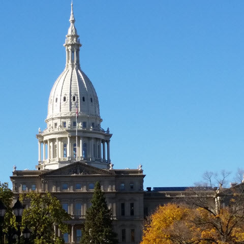 Lansing Michigan Capitol Building
