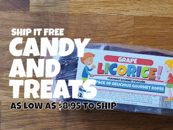 CANDY, TAFFY AND TREATS | FREE SHIPPING AVAILABLE