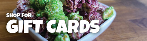 BUY GIFT CARDS | CRAVINGS GOURMET POPCORN