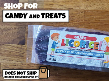 SHOP FOR CANDY, LICORICE AND TREATS