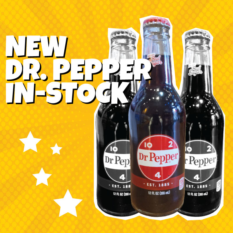 Dr. Pepper in stock